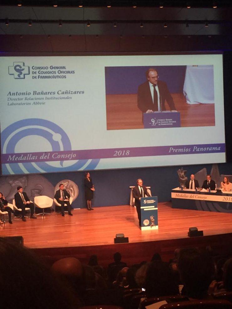 premios panorama y medallas CGCOF
