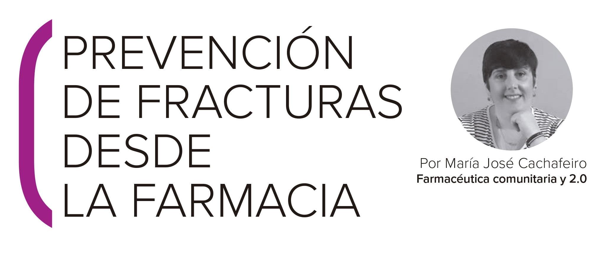 Prevención de fracturas desde la farmacia