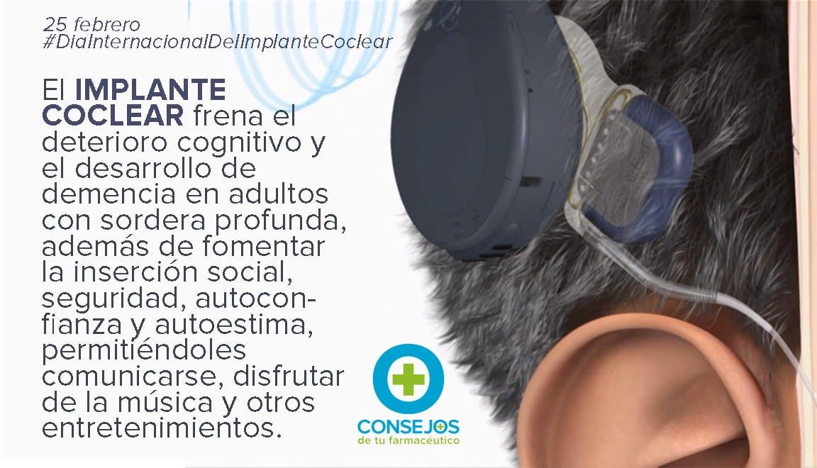 El uso de audífenos y los implantes cocleares protegen del riesgo de aparición de demencia