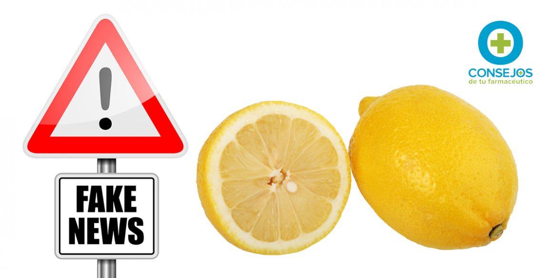 Las propiedades anticancerígenas del limón, un bulo absolutamente falso