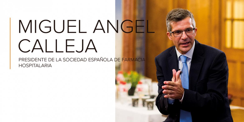 """Miguel Ángel Calleja: """"No es competencia nuestra clasificar donde se dispensan los medicamentos"""""""
