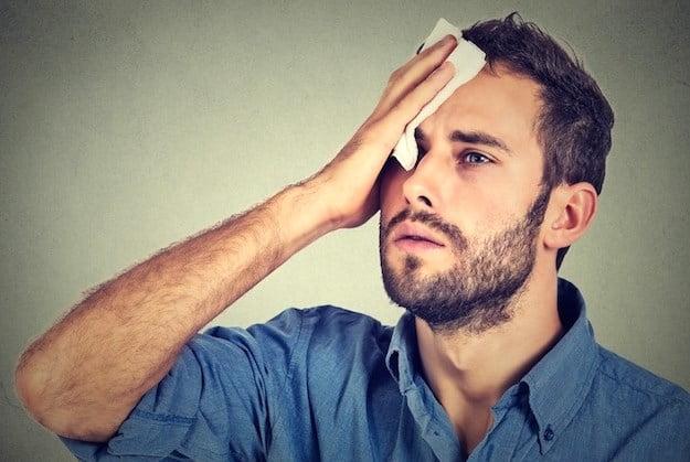 ¿Sudas en exceso? Cómo combatir la hiperhidrosis
