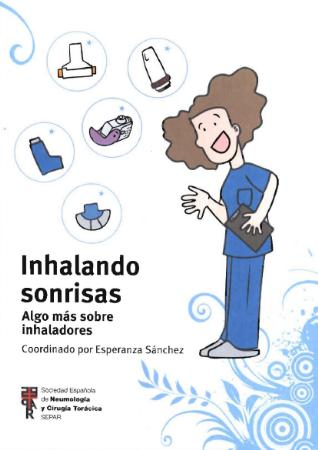 """El libro """"Inhalando sonrisas"""" refleja las carencias sobre el uso de inhaladores y el nivel de educación sanitaria de los pacientes"""