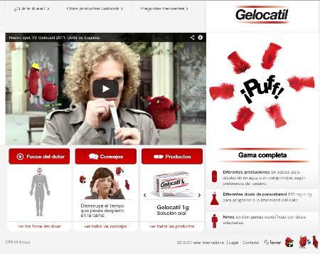 Ferrer lanza la web Gelocatil.com