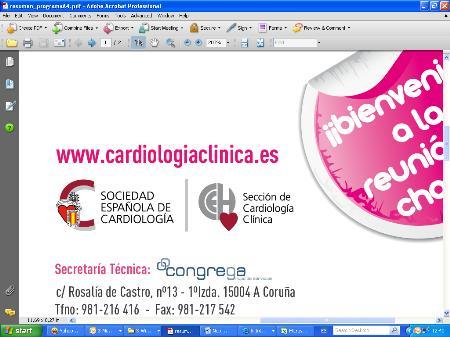 Sesenta jefes de Cardiología de toda España elaboran la primera guía para estandarizar la asistencia a los pacientes