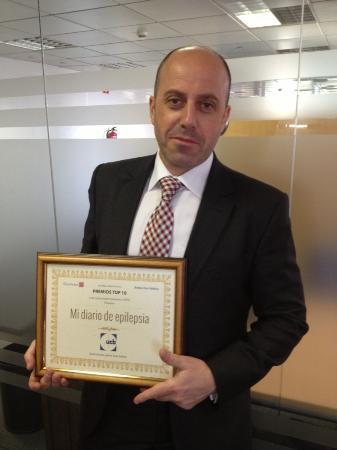 'Mi Diario de Epilepsia' recibe el premio TOP 10 de Redacción Médica a las aplicaciones sanitarias más relevantes