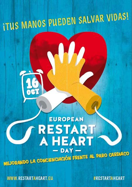 15 de octubre, Día Europeo del Paro Cardíaco