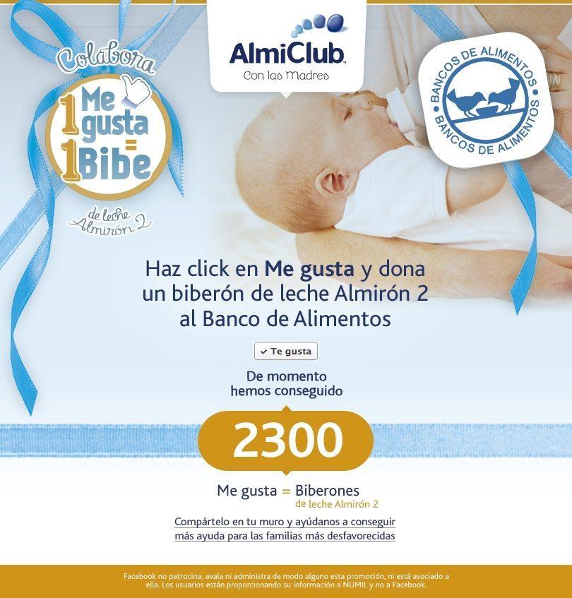 Almirón se alía con la farmacia para donar 200.000 biberones de leche infantil a Banco de Alimentos