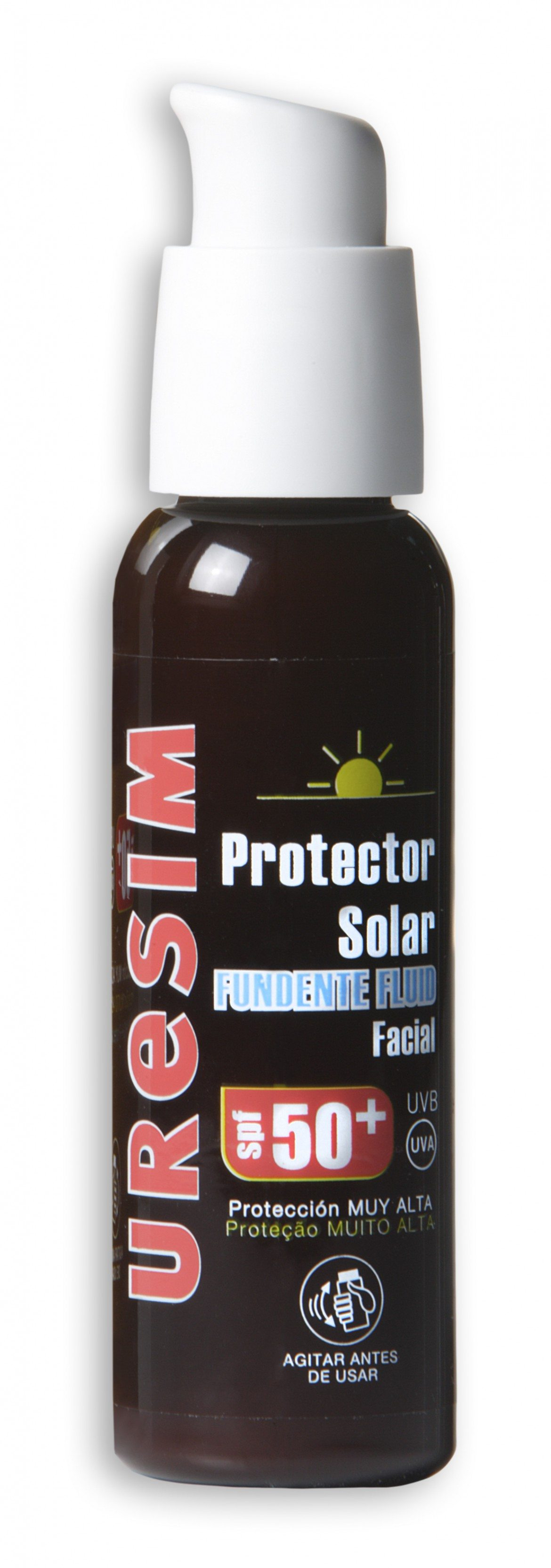 URESIM PROTECTOR SOLAR FUNDENTE FLUID 50+