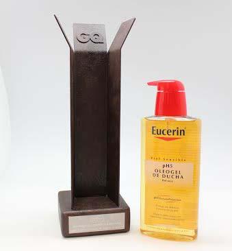 'Eucerin oleo gel', premio GQ de cosmética masculina