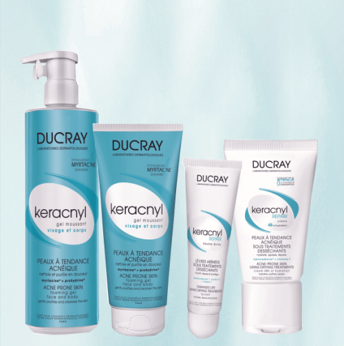 ¿Piel con acné? KERACNYL REPAIR CREMA