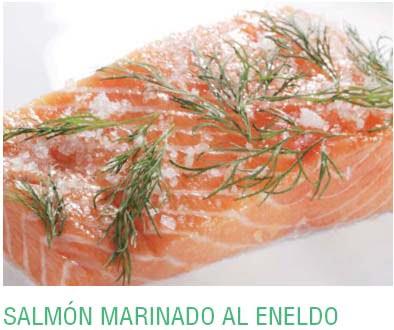SALMÓN MARINADO AL ENELDO