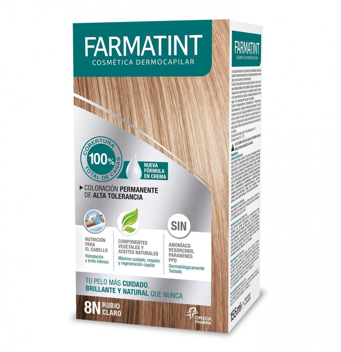 Coloración capilar FARMATINT, nueva fórmula