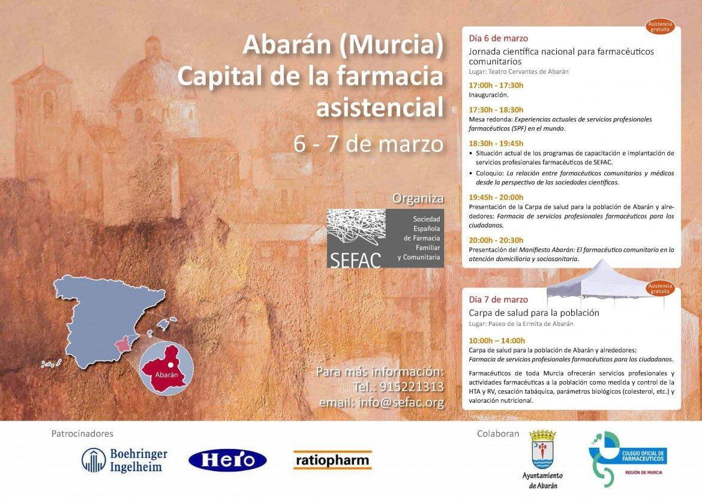 Jornadas 'Abarán (Murcia): capital de la farmacia asistencial'
