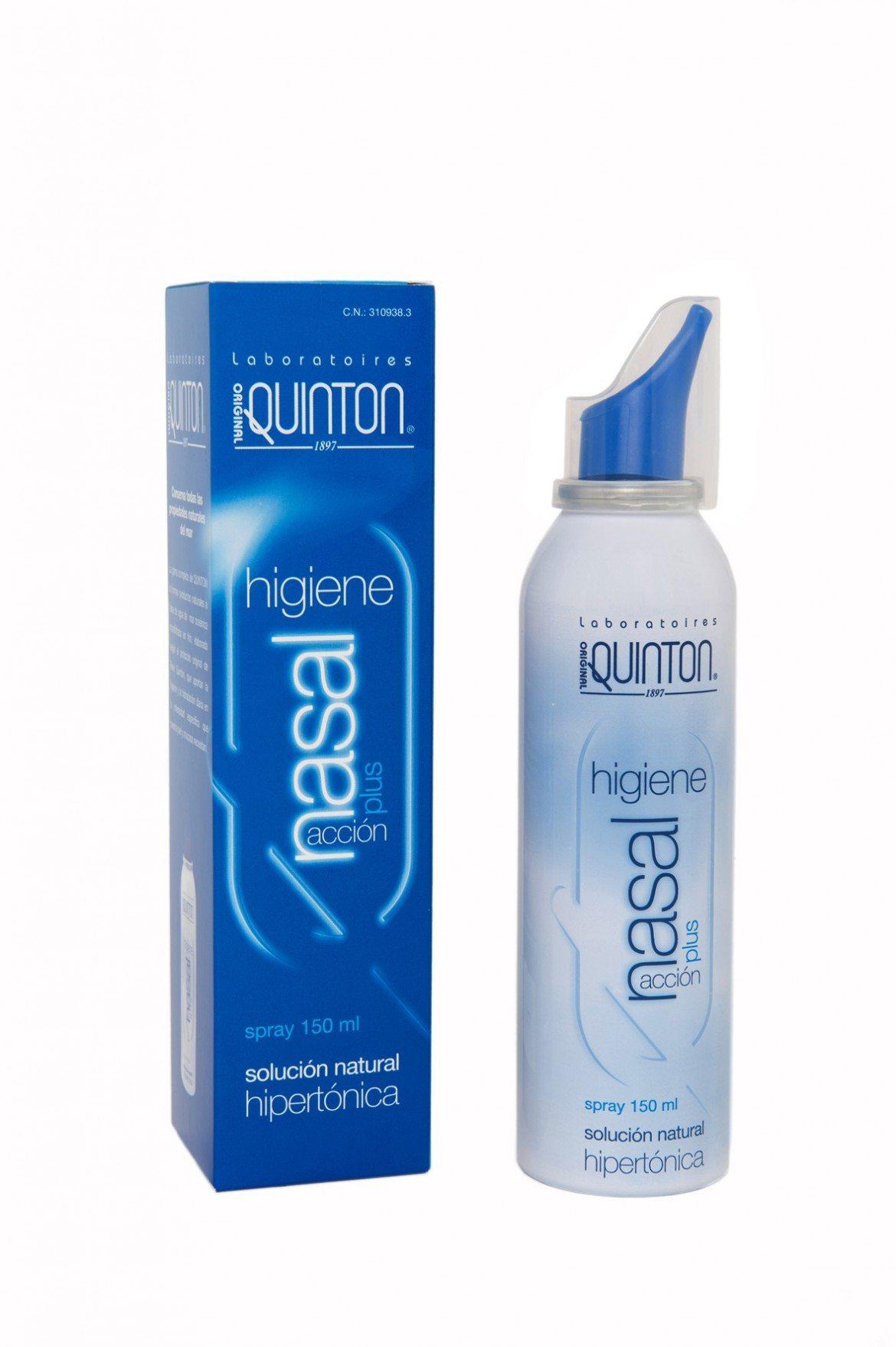 Cuida la higiene nasal del bebé con Laboratorios Quinton