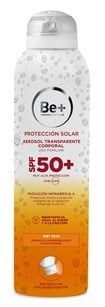 Be+ fotoprotección: texturas ultra fluidas