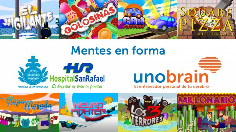 """El Hospital San Rafael y Unobrain ponen en marcha """"Mentes en Forma"""""""