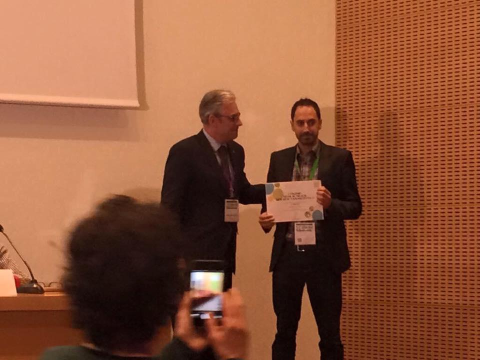Baltasar Pons recibe el Premio TEVA al Mejor Servicio Farmacéutico para Atención Domiciliaria