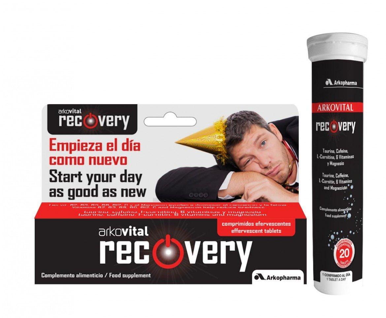 ¿Malestar tras una fiesta? Arkovital Recovery