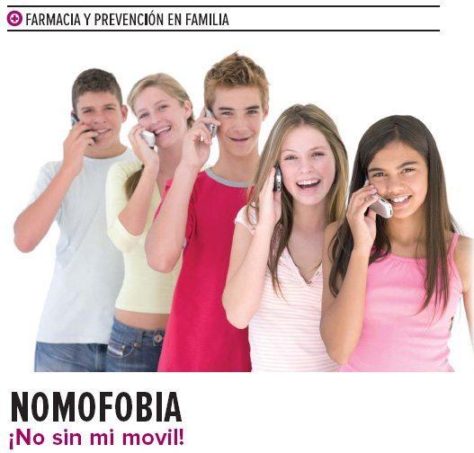 NOMOFOBIA ¡No sin mi móvil!