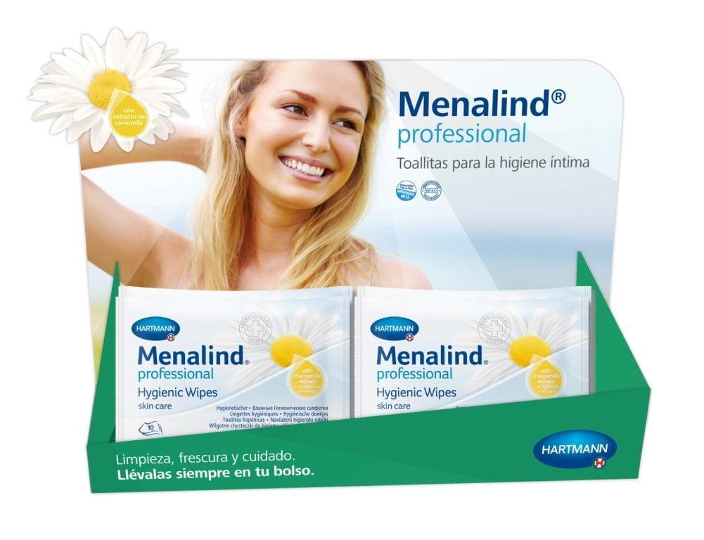 Toallitas de higiene íntima MENALIND