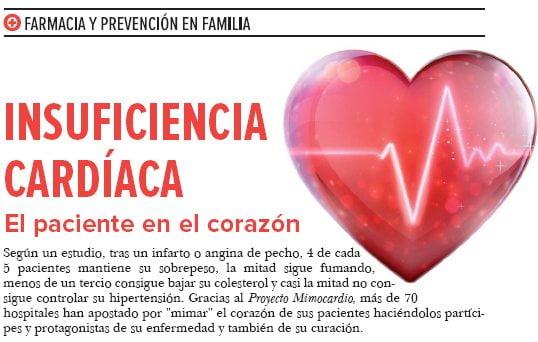 INSUFICIENCIA CARDIACA, el paciente en el corazón