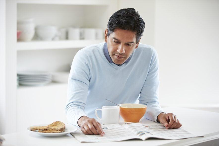 No desayunar aumenta el riesgo de infarto y angina