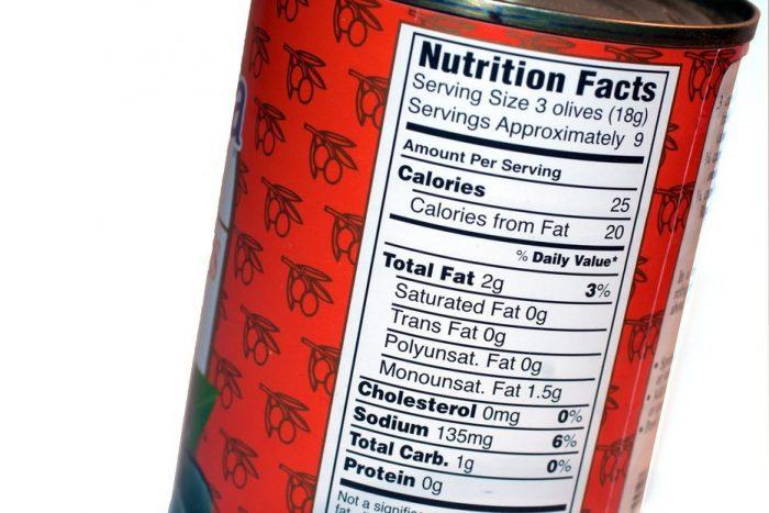 El etiquetado nutricional ayudará a alcanzar una alimentación sana, equilibrada y segura