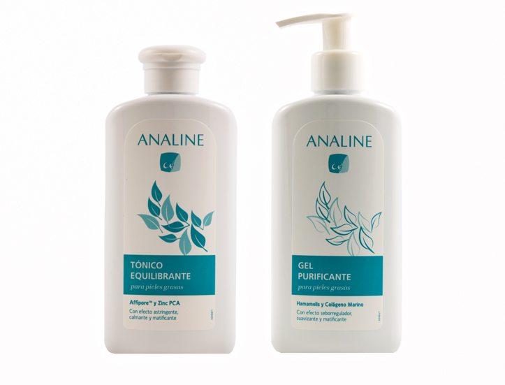 Línea 'Analine' para piel grasa y acneica
