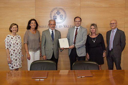 SEFAC y la Universidad de Valencia firman un convenio de colaboración
