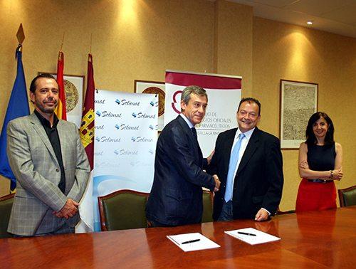 Solimat firma un Convenio con el COFCAMpara mejorar el servicio a sus trabajadores protegidos