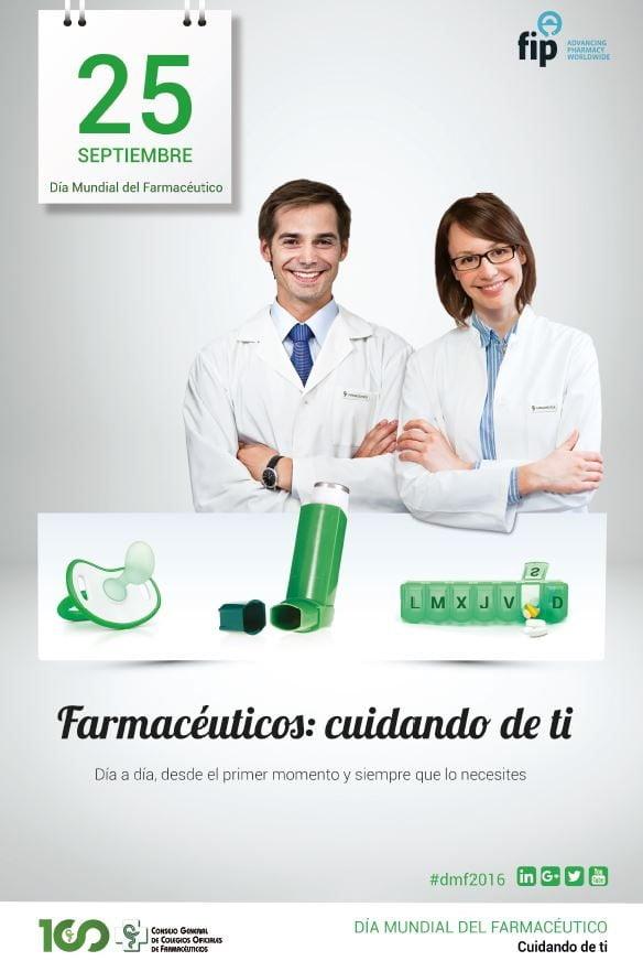 Próximo 25 de septiembre, Día Mundial del Farmacéutico