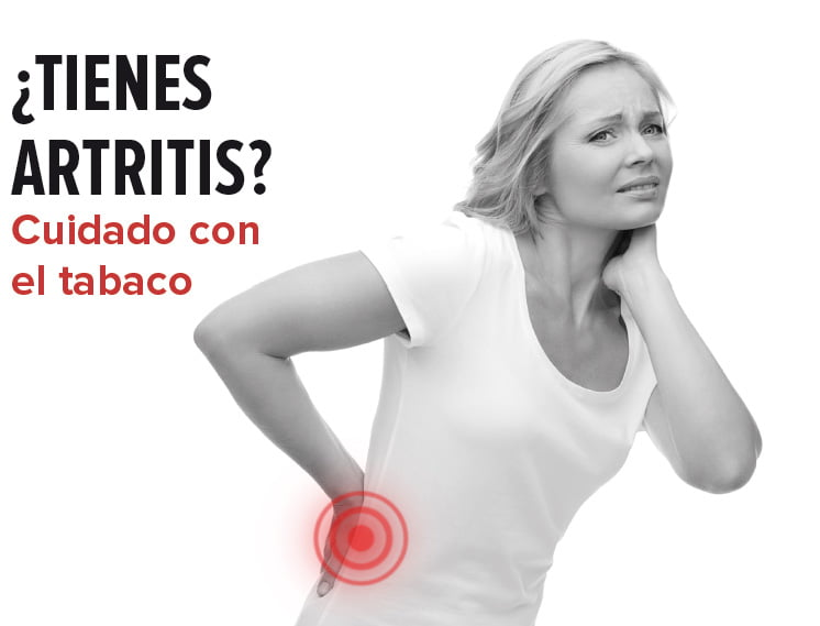 ¿Tienes artritis? Cuidado con el tabaco