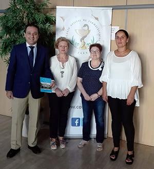 El COF de Jaén colaborará con la Asociación de Enfermos de Alzheimer