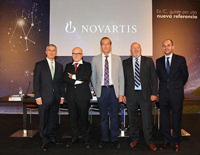 Novartis presenta Entresto, nuevo fármaco para la insuficiencia cardíaca