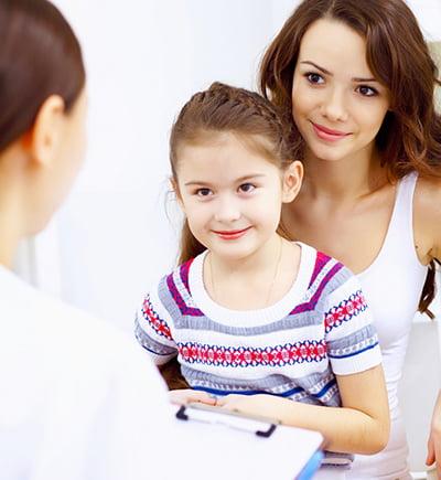 La piel de los niños: los problemas más comunes