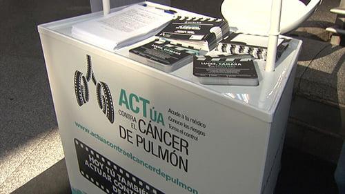 Campaña de sensibilización 'ACTúa contra el Cáncer de Pulmón'