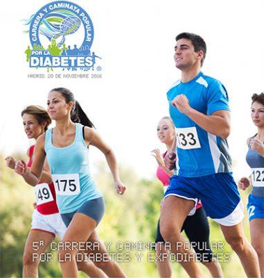 Este domingo, 5ª Carrera y Caminata Popular por la Diabetes