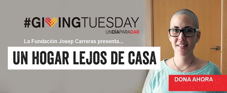 #GivingTuesday: la solidaridad logra que Clàudia supere un linfoma