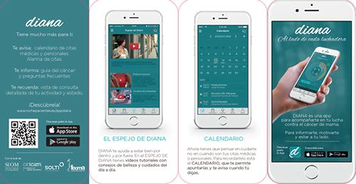 La app Diana para mujeres con cáncer de mama, premiada por el diario Expansión