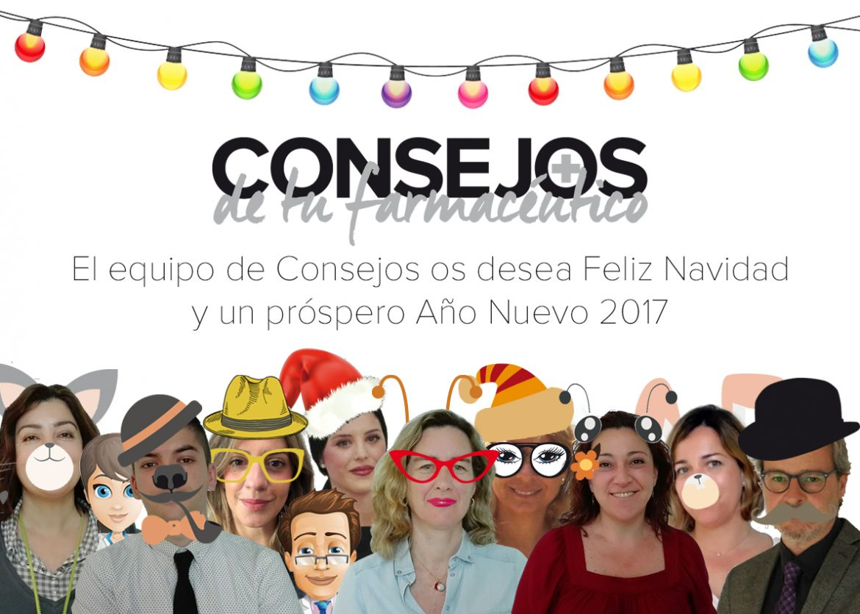 El equipo de Consejos os desea un Feliz y próspero Año Nuevo
