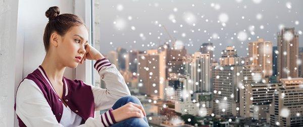 Depresión navideña: el 44% de la población la padece