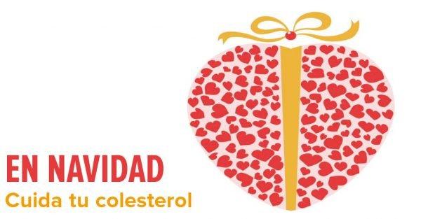 Esta Navidad, ¡Cuida tu colesterol!