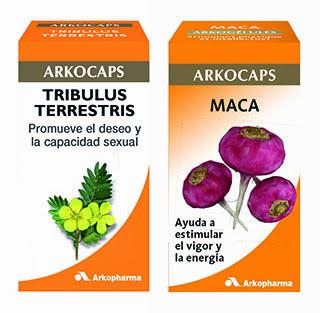 Maca y tribulus: salud sexual con Arkocápsulas