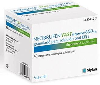Mylan lanza en España Neobrufen Fast