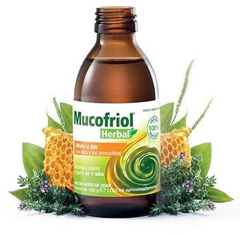 Mucofriol Herbal, nuevo jarabe que alivia la tos