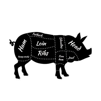 La carne de cerdo magra se puede consumir de 3 a 4 veces por semana