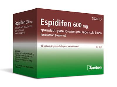 Nuevo Espidifen con sabor cola-limón
