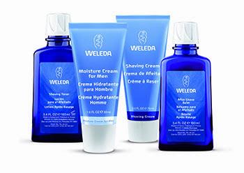 Cosmética para la piel masculina, de Weleda