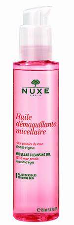 Aceite desmaquillante micelar, de Nuxe